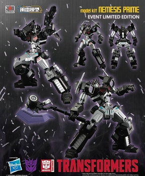 Flame Toys Furai Model 04 - NEMESIS PRIME (Attack Mode)